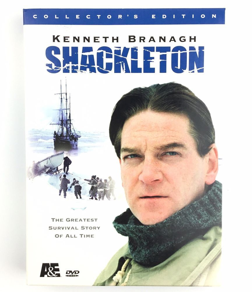Shackleton Dvd 2002 3 Disc Set The Greatest Survival Story Of All Time Ebay Kenneth Branagh Survival Movie Full Movies Online Free
