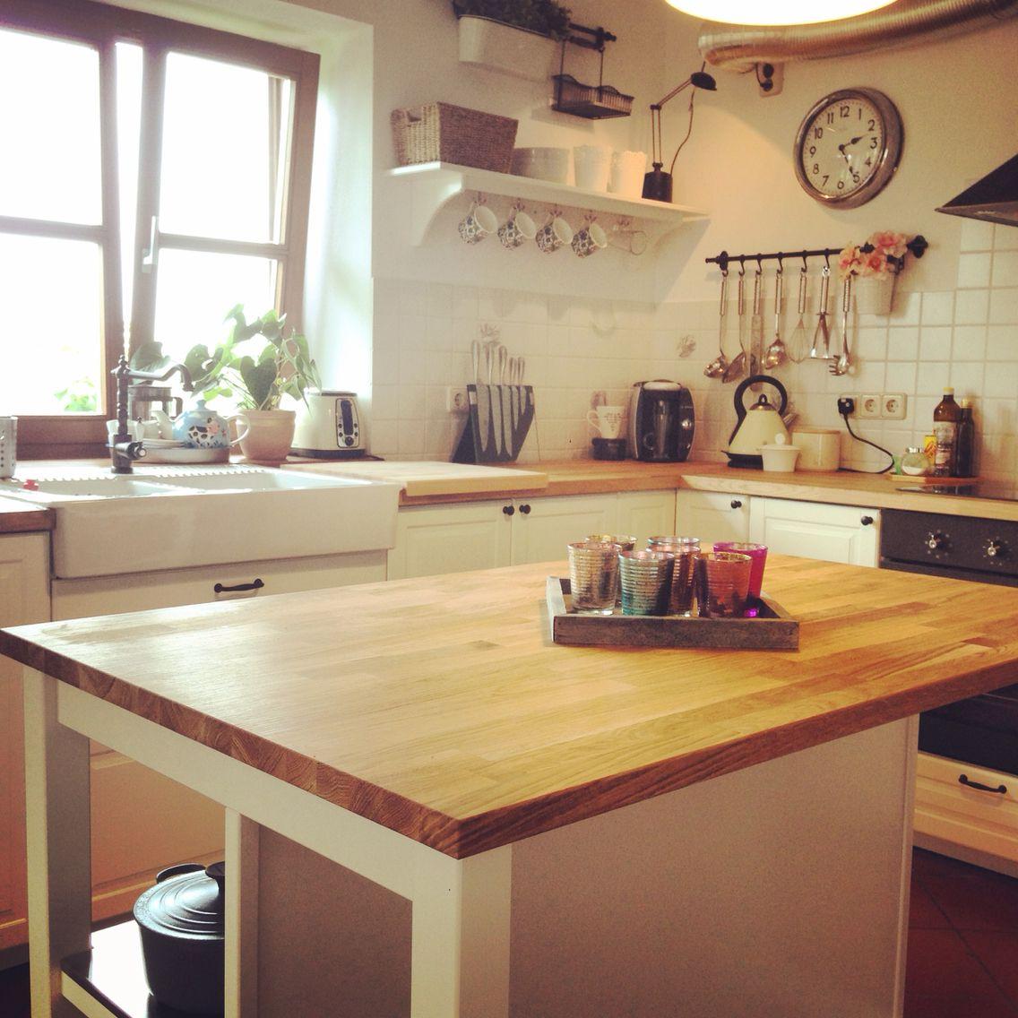 Ikea shaker style BODBYN kitchen | Kitchen | Pinterest | Küche