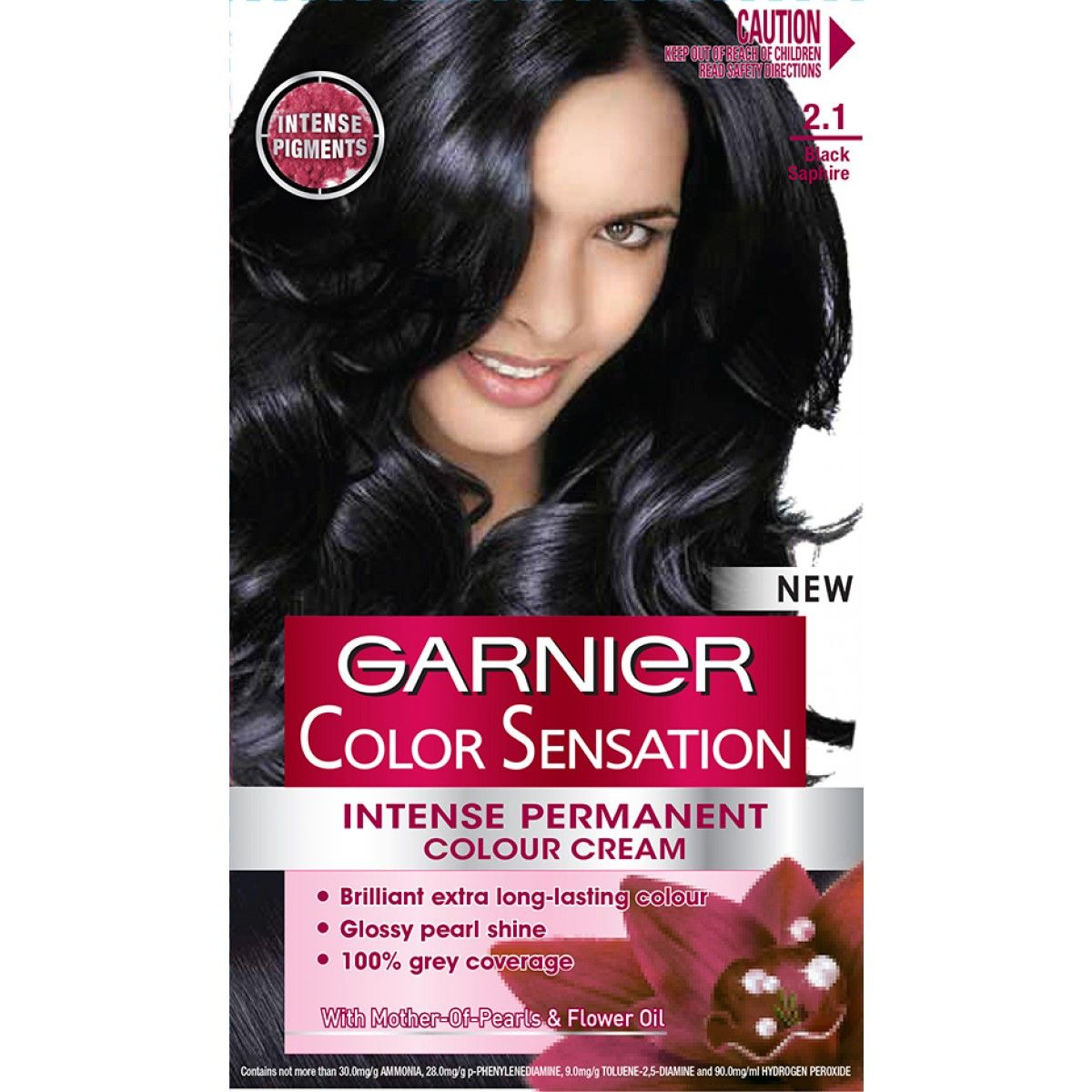sapphire black hair color garnier color sensation black