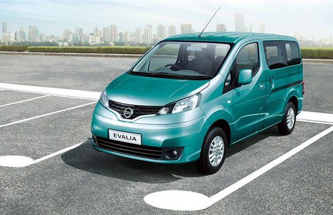 Nissan Evalia Facelift Launched New Xv S Top Variant At Rs 10 5l Nissancars Nissan Nissan Ev Nissan Cars