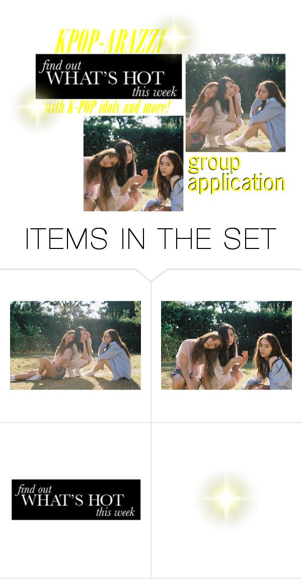 """""""Loona's KPOP-ARAZZI Application"""" by myasanons ❤ liked on Polyvore featuring art"""