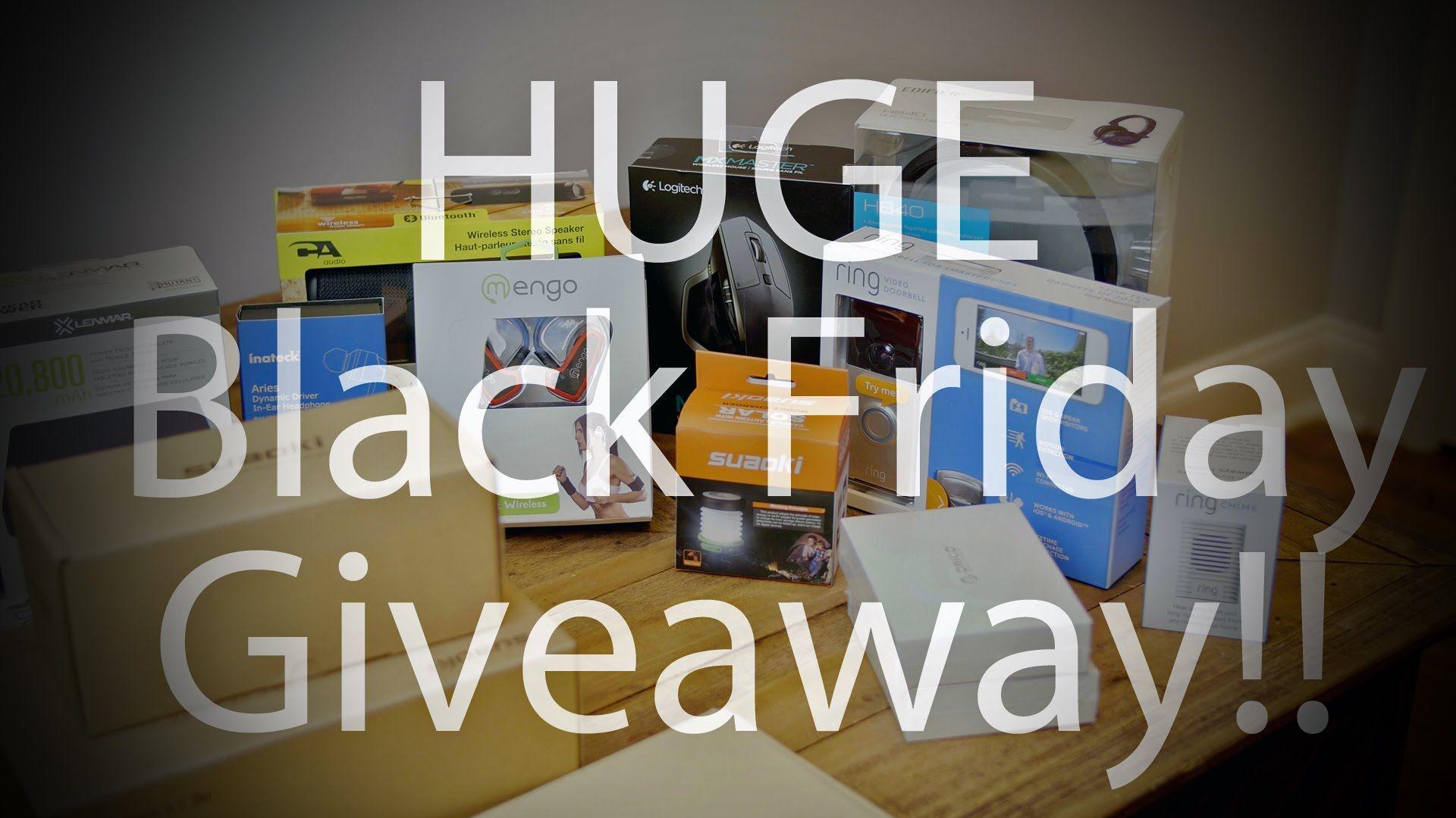 HUGE Black Friday Giveaway!!!