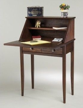 Shaker Secretary Desk Small Desk For A Cozy Corner Secretary