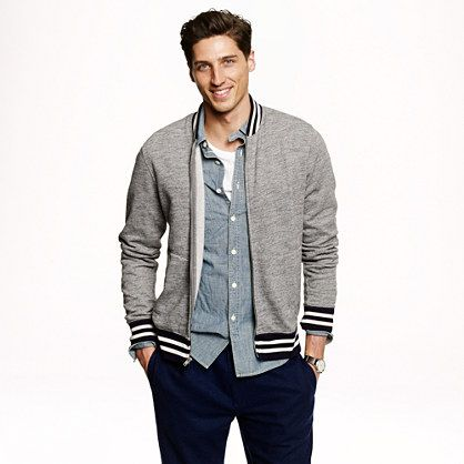 Baseball Fleece Jacket LJi52l