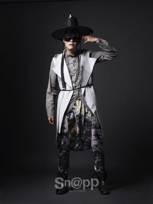 한복 HANBOK, Korean traditional clothes : hip hop hanbok