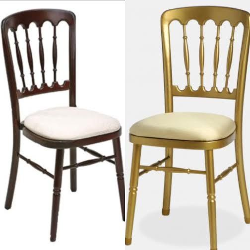 Gold U0026 Mahogany Versailles Chairs