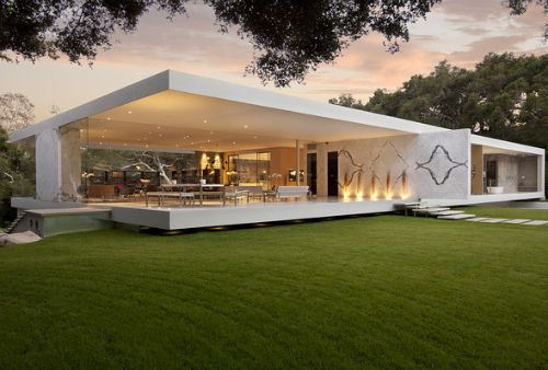 Glass House Architecture Design #Glass Pinned by www.modlar.com