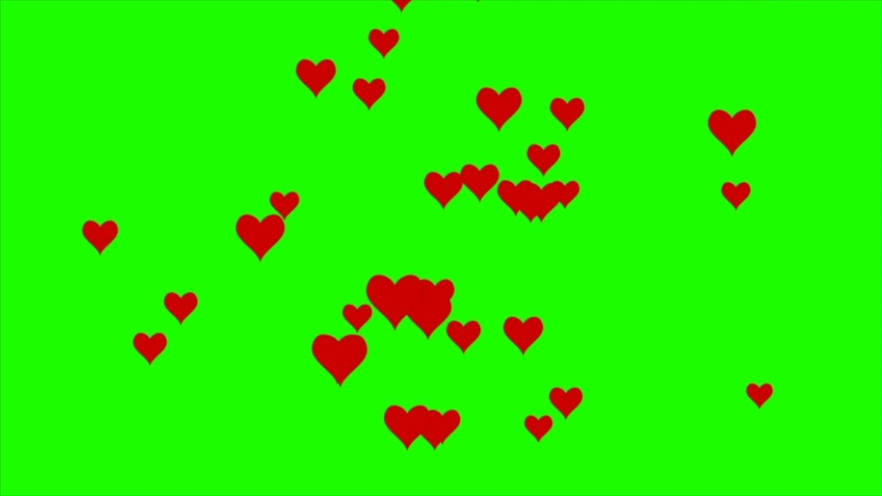 Love Symbols And Shapes Compilation Green Screen Effects Green Screen Backgrounds Green Screen Video Backgrounds Greenscreen