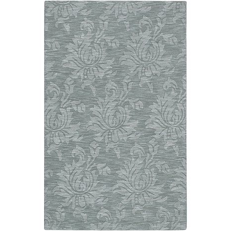 Surya Mystique Gray Blue Tone On Tone Area Rug 8 X 11 At Hsn Com 490 Area Rugs Floral Pattern Rug Rugs Tone on tone area rug