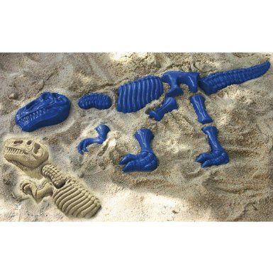 Sand molds Dinosaurs, 10 pcs. Set: Amazon.de: Toys