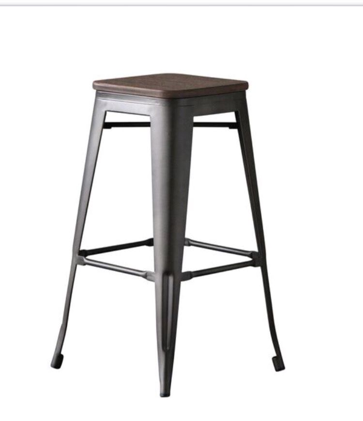 Beautiful Tolix Bar Stool Industrial Design New Collection 45 95