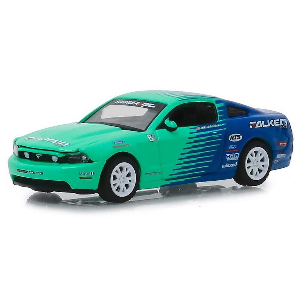 "2013 Ford Mustang GT ""Falken Tires"" Hobby Exclusive 1/64 Diecast Model Car by Greenlight"