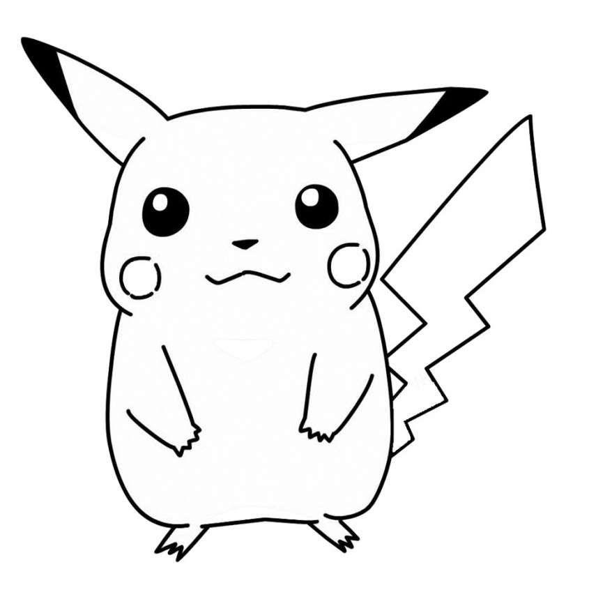 Disegni Per Bambini Di 3 Anni Un Simpatico Pokemon Disegni Da