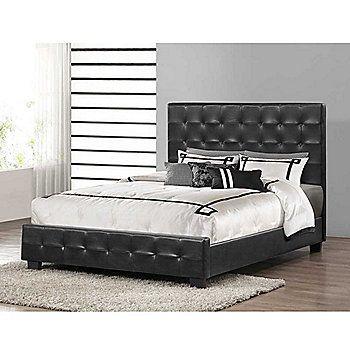 Baxton Studio Manchester Modern Platform Bed On Sale At Shophq Com With Images Modern Platform Bed Upholstered Platform Bed Modern Bed