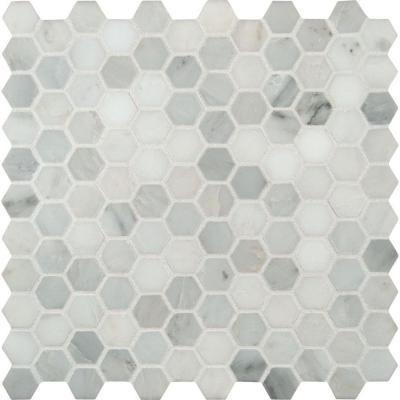 Msi Greecian White Mini Hexagon 11 61