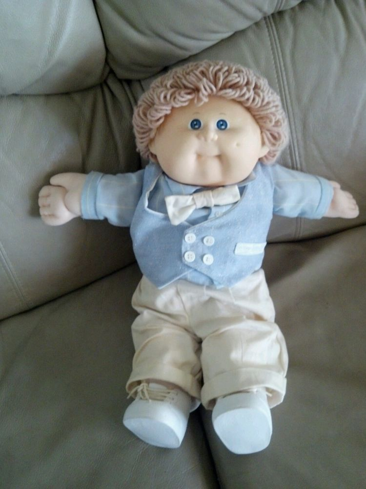 Cabbage Patch Little Boy Doll Signed By Xavier Roberts 78 To 82 Cabbage Patch Babies Cabbage Patch Dolls Cabbage Patch