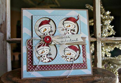 Linda McClain - Winterberry Wonderland Card