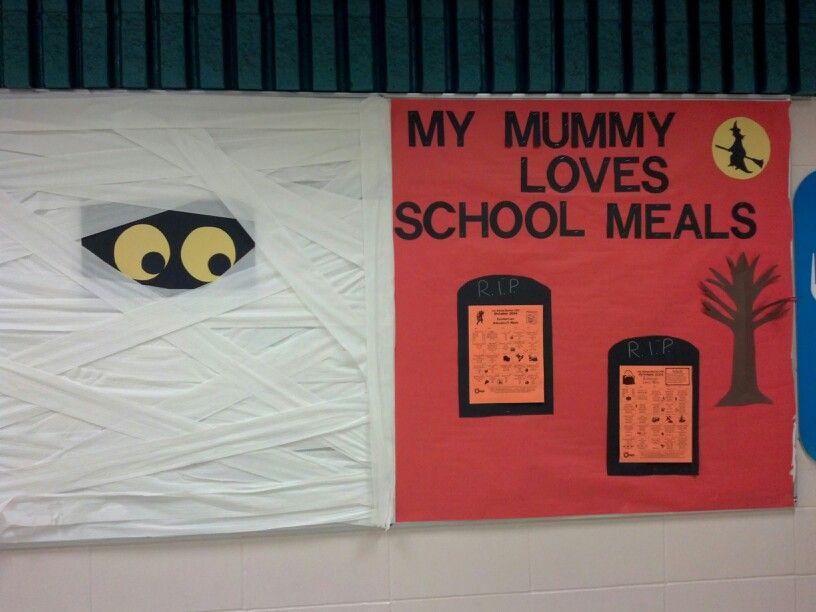 Halloween Bulletin Board Cafeteria Bulletin Boards