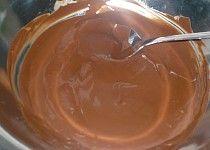 Čokoládová poleva s nutellou