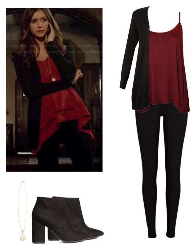 6c457cf040eb Elena Gilbert - tvd   the vampire diaries by shadyannon on Polyvore  featuring polyvore fashion style WearAll Monsoon River Island H M clothing