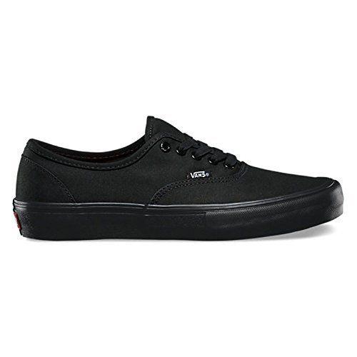 Vans Men's Authentic Pro Black/Black Skate Shoe 9.5 Men US: Vans waffle  tread