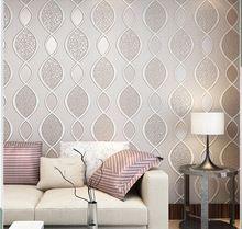 Moderno e minimalista di spessore non tessuto carta da for Carta da parati moderna per soggiorno