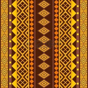 tissu africain: afrique ornement géométrique; vecteur de