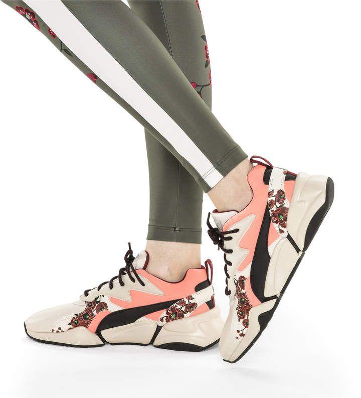 new concept 39120 9b4d5 PUMA x SUE TSAI Nova Cherry Bombs Womens Sneakers