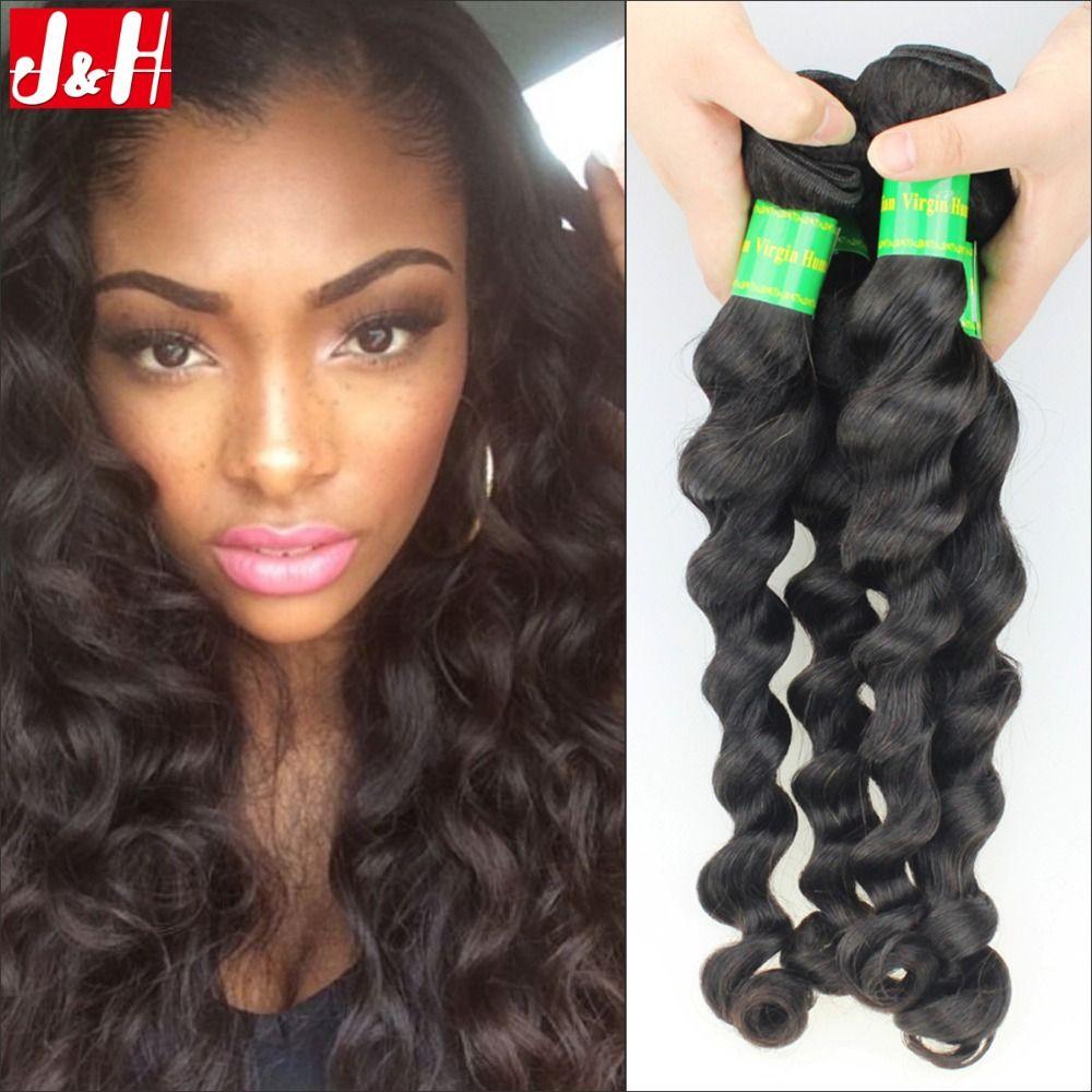 Peruvian Loose Wave Hair Weaves 3pcslot 7a Top Unprocessed Virgin
