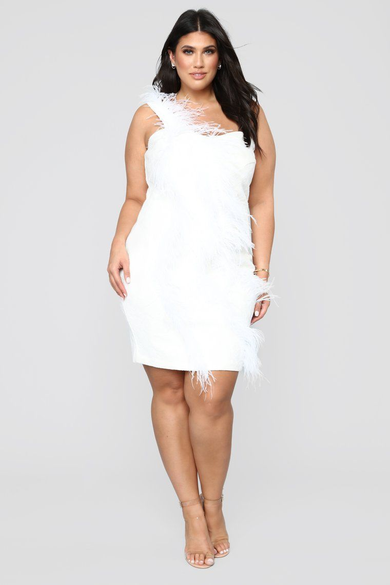 Swan Song Feathered Dress - White | Spring 2019 in 2019 ...