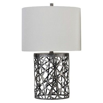 Threshold Woven Wire Table Lamp With Oval Shade What S The Difference Between These Two Other Than Price Lamp Table Lamp Wire Table