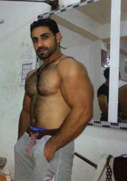 Image of indian muscle gay with condom 2