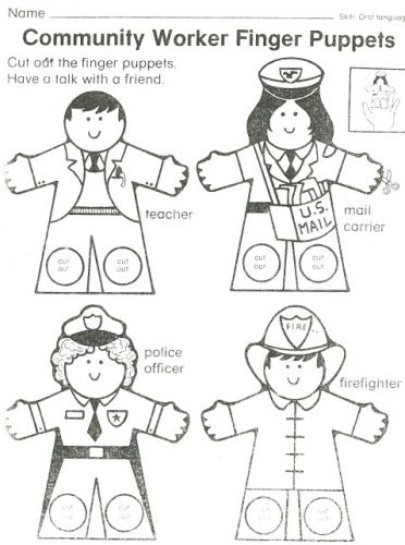 Community Helpers Process Community Helpers Kindergarten Community Helpers Art Community Helpers Theme