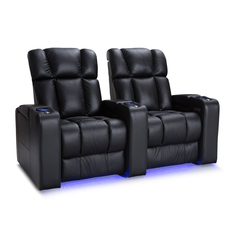 with seating bonded motorized basics leather theater bk view p black seat zoom av salamander bl products larger recliner of straight home loveseat image