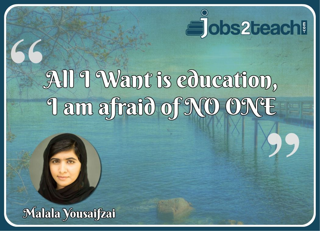 Teachers are the main source for education. Right teacher