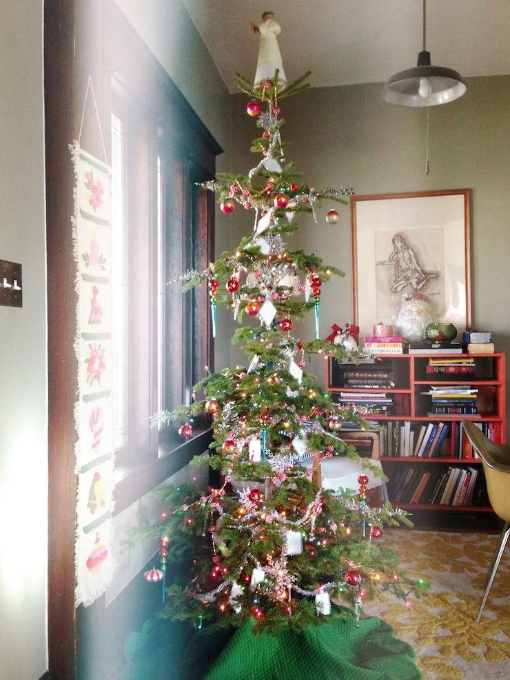 cute skinny Christmas tree   Skinny christmas tree, Christmas tree, Little christmas trees