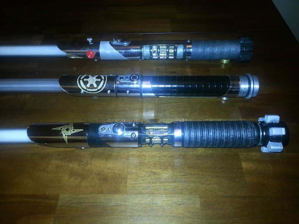 for Hampton s hand crafted led sabers