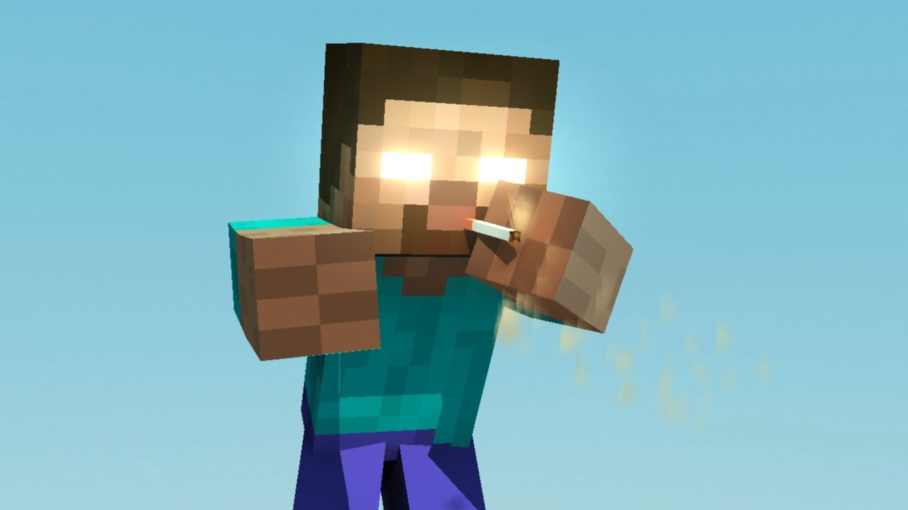 Herobrine Minecraft Funny Pictures HD Wallpaper Of