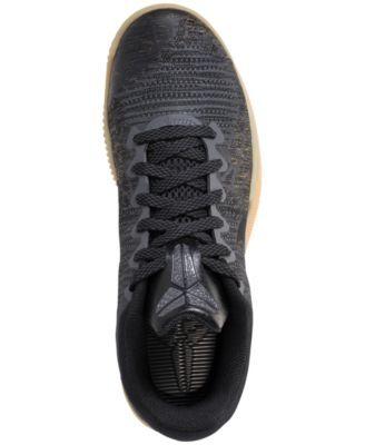 75cba624323 Nike Men s Mamba Rage Basketball Sneakers from Finish Line - Gray 10.5