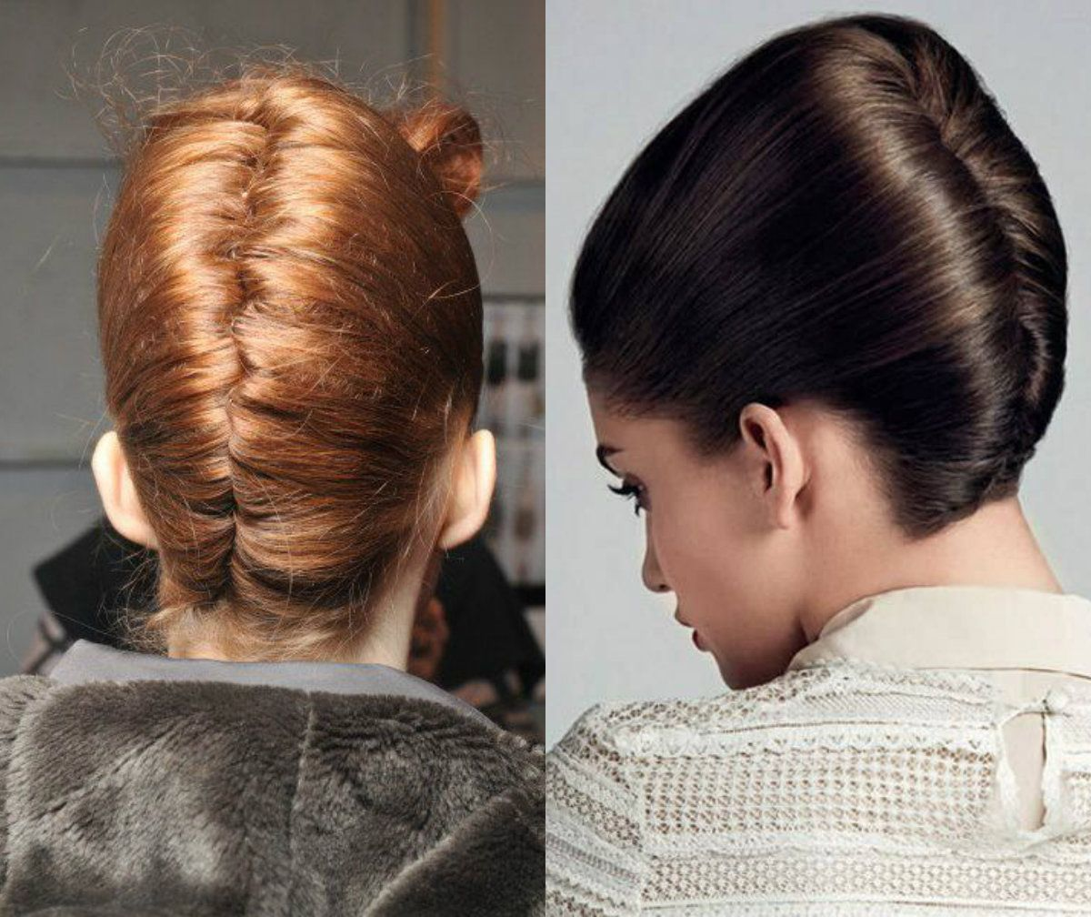 Double twist French updo | HairStyle | Pinterest | French twists ...