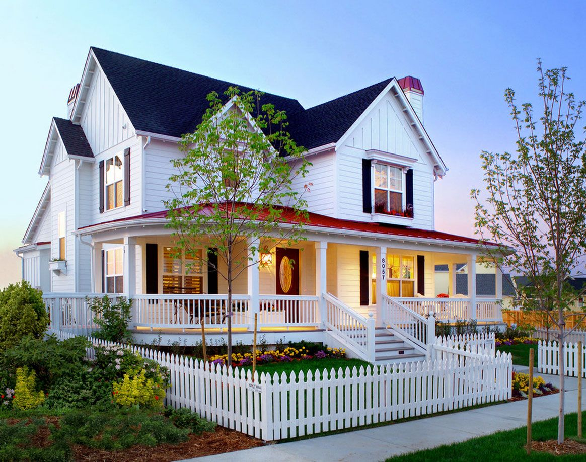 12 Charming Picket Fence Ideas Town & Country Living