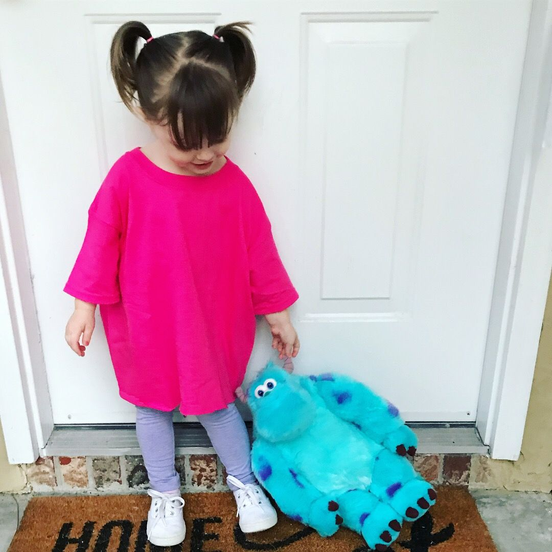 Boo Monsters Inc Halloween Costume Monster Inc Costumes Monsters Inc Halloween Costumes Cute Baby Halloween Costumes