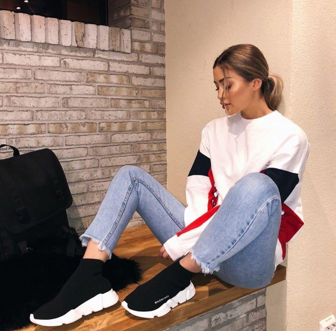 new product c0416 8ae3a Alberita outfit ✓ balenciaga shoes