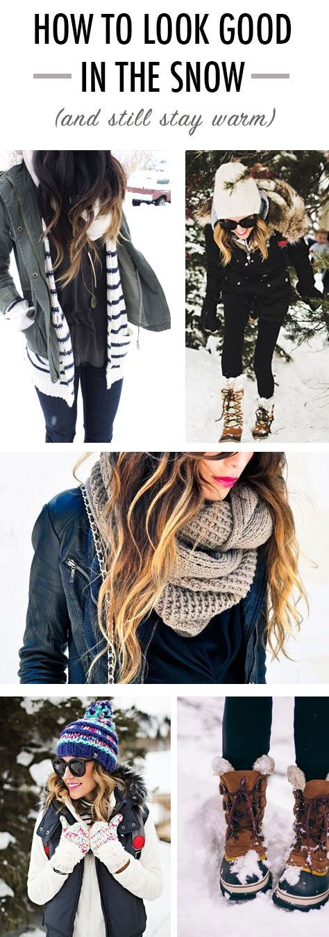 How to Look Good in the Snow (and Still Stay Warm)