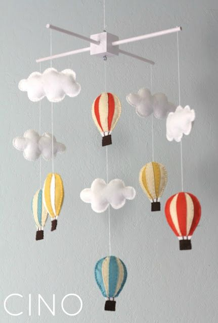 Hot Air Balloon Mobile Great For A Child S Room Future Home