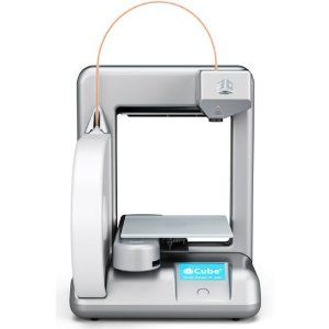Cube 2nd Generation 3D Personal Printer Silver