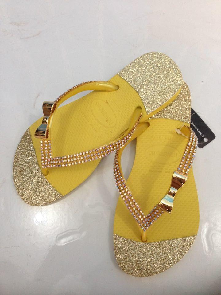 1aae940786fd Swarovski Crystal Flip Flops - Bling Flip Flops - Swarovski Thong Sandals  Custom Hand Jeweled