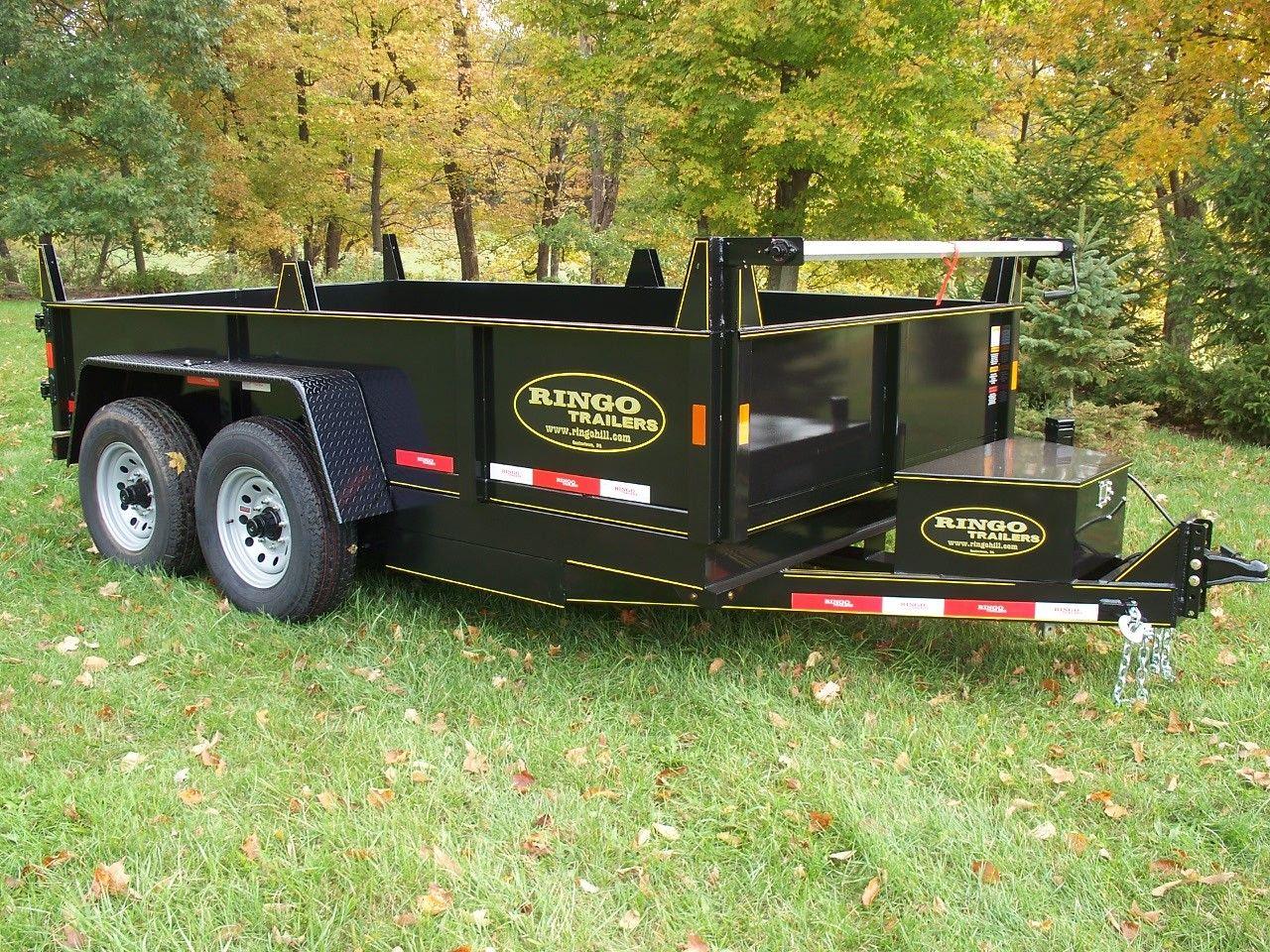 Dt612 lphd102 67 x 12 low profile equipment hauler