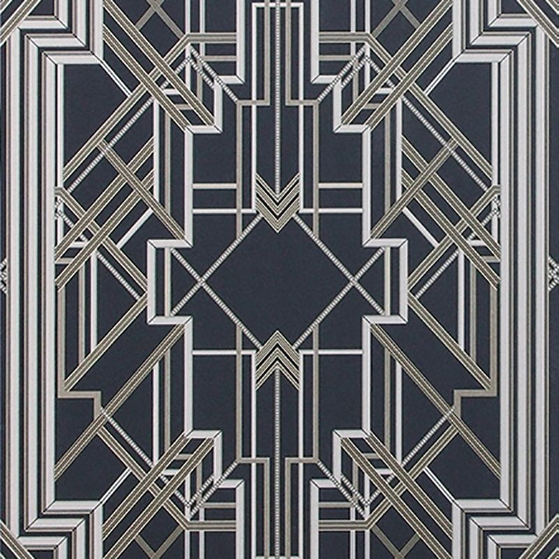 LOVE This Very Gatsby Ish Wallpaper Designed By The Set Designer For Great