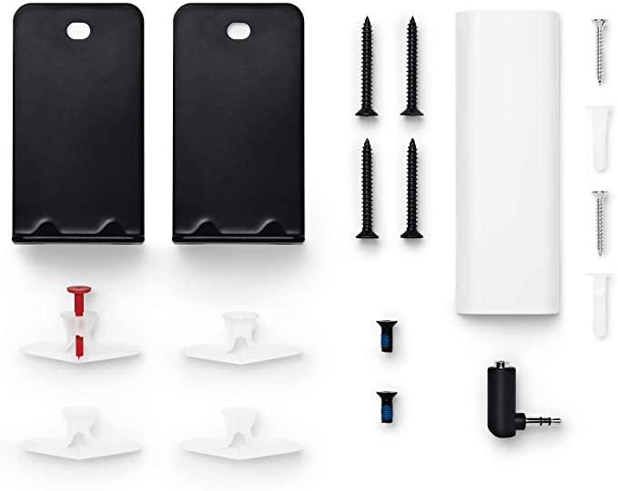 Amazon Com Bose Soundbar Wall Bracket Black Electronics Soundbar Wall Wall Brackets Sound Bar